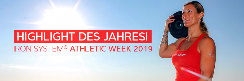 IRON SYSTEM® Athletic Week 2019 auf IBIZA!