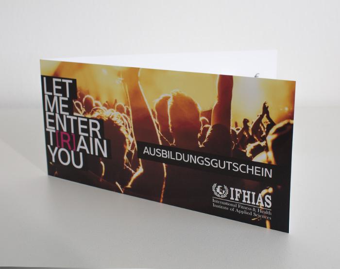 Neu in den IFHIAS Shops: IFHIAS Ausbildungsgutschein...