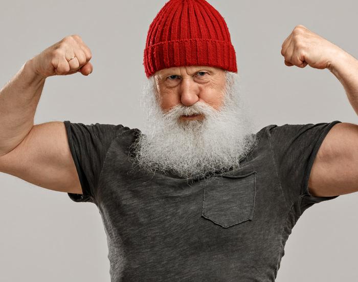 Resultiert höhere Kraft unabhängig vom aktuellen Alter in einem längeren Leben?