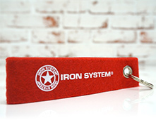 IRON SYSTEM® Schlüsselanhänger Star