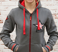 IRON SYSTEM® Ace Zip Hoodie, female