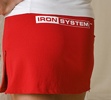 IRON SYSTEM® Skirt, red