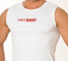 IRON SYSTEM® Tank, male, white