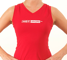 IRON SYSTEM® Tank, female, red