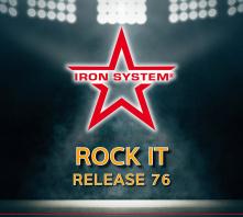 """HOT IRON® Release 76 """"Rock It"""""""