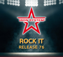"HOT IRON® Release 76 ""Rock It"""