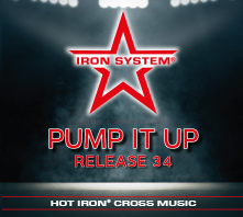 HOT IRON® CROSS Release 34 Pump It Up