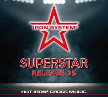"""HOT IRON® CROSS Release 35 """"SUPERSTAR"""""""